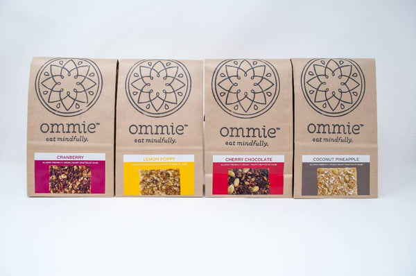 Ommie Snacks: 12-bar Customer Favorites Free Shipping