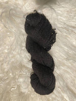Black Icelandic yarn