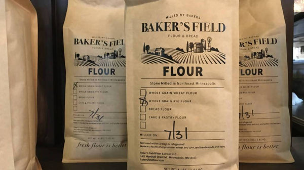 Whole Grain Wheat Flour for Home Bakers - 4 lbs. | Baker's Field Flour & Bread