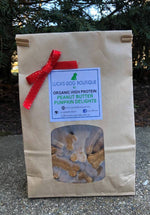 Luca's Organic Peanut Butter Pumpkin Dog Treats 1 Pound - TEEN OWNED & OPERATED!
