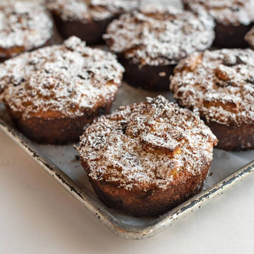 French Toast Muffin |Banana Chocolate Chip or Chocolate Chip (Serves 1)