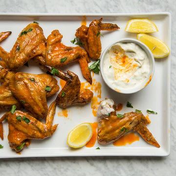 Chicken Wings (4 Wings) | Prairie Pasture Farm, Certified Organic