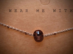 Armband Swarovski Elements Rose Blush Rose