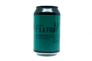 It's A Fight 4.0 - New England IPA 6.0% abv