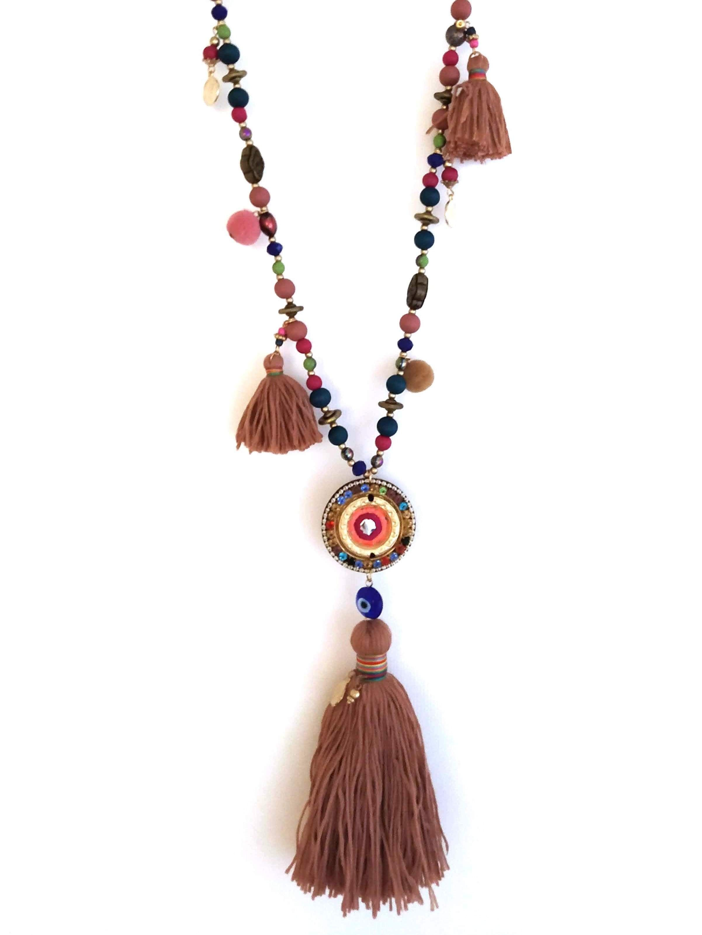 KETTE BROWN TASSLE