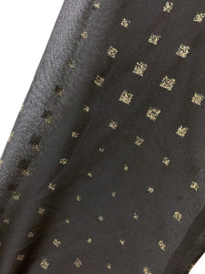 KLEID BLACK GOLD SQUARE ONE SIZE