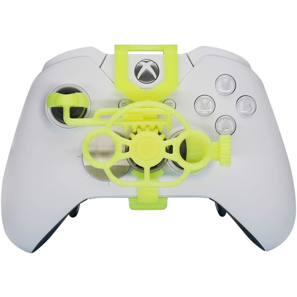 Xbox One Gaming Racing Wheel (Enhanced), 3D Printed Mini Steering Wheel add on for Xbox One X/Xbox One S/Elite Controlle