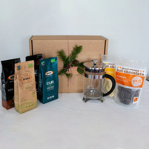 Ground Coffee & Hot Chocolate Gift Box