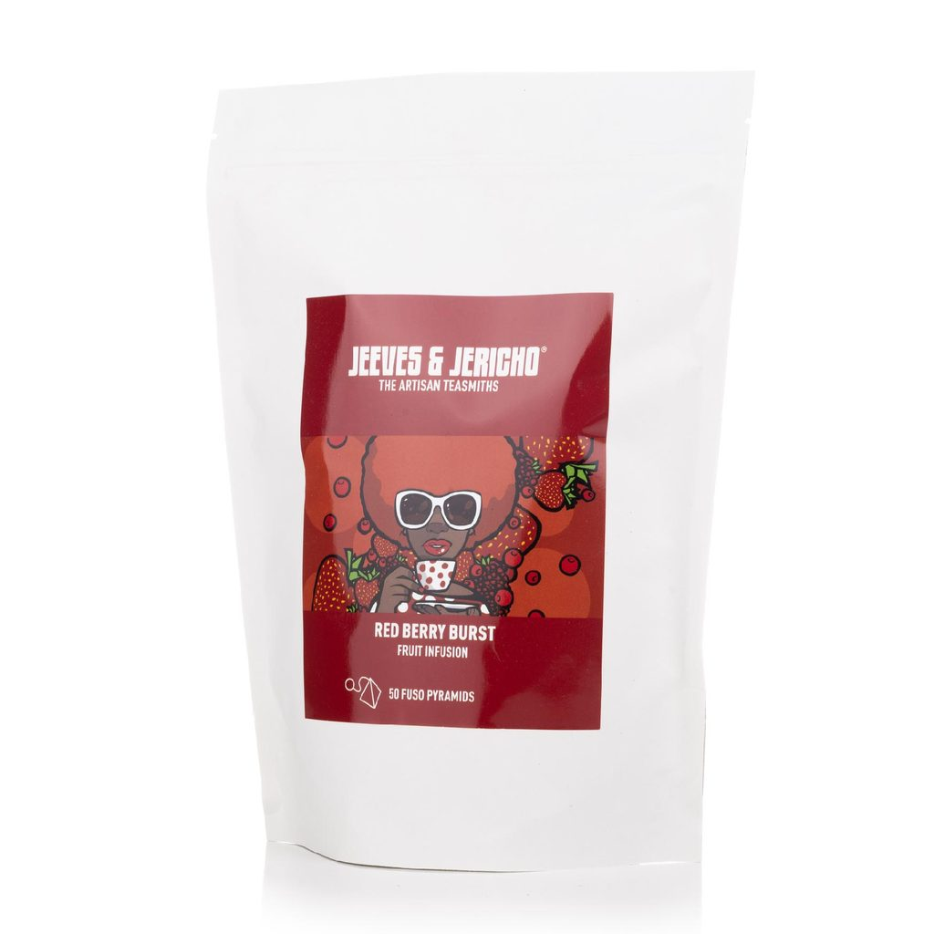 Red Berry Burst - 50 Pyramid Bags