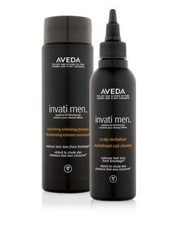 Invati Men sjampó og scalp revitalizer