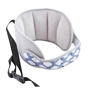 Baby Head Fixed Sleeping Pillow Adjustable Kids Seat Head Supports Neck Safety Protection Pad Headrest Children Travel Pillow|Pillow