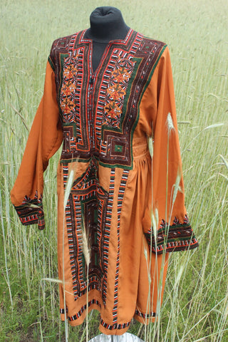 Balochi dress Curry - Shirdak