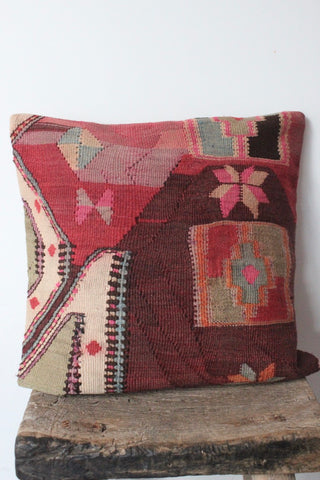 Kilim 50cmx50cm Collage Cushion