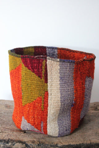 Basket Medium Patchwork