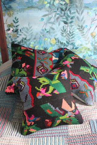 Kilim cushion set Rose - Shirdak