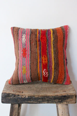 Kilim 40cmx40cm Nigella cushion - Shirdak