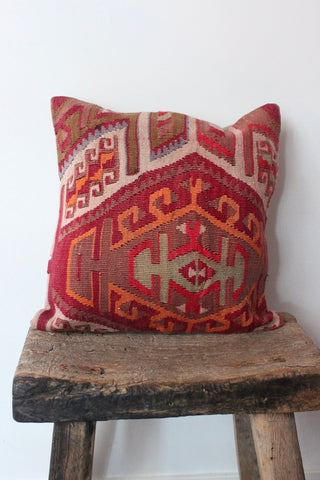 Kilim 40cmx40cm Agaath cushion - Shirdak