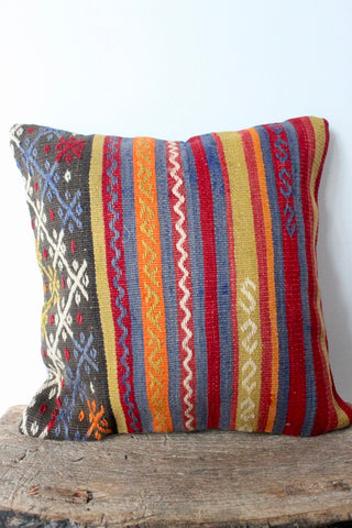 Kilim 40cmx40cm Autumn Cushion