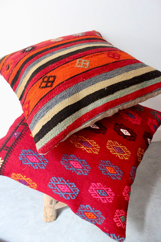Kilim Cushion Set 60cmx60cm Sweet Candy - Shirdak