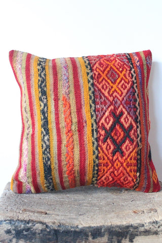 Kilim 40cmx40cm Oak Cushion