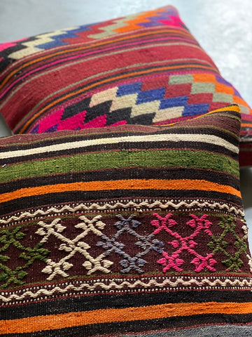 Kilim Cushion Set 60cmx60cm Paris - Shirdak