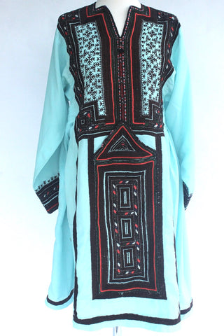 Balochi dress Blue - Shirdak