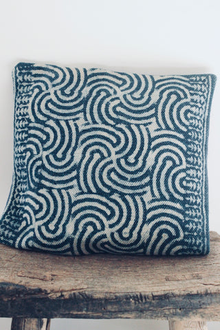 Indigo Sz 40x40 cushion - Shirdak