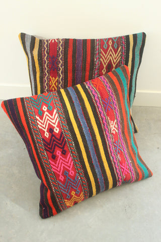 Kilim Cushion Set 60cmx60cm Peru - Shirdak