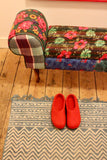 Slippers Red round nose size 42 - Shirdak