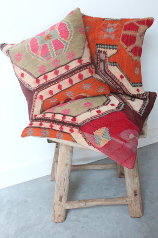 Kilim Cushion set 40cmx40cm and 50cmx50cm Collage
