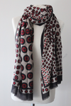 Drops TD Black/Red Scarf - Shirdak