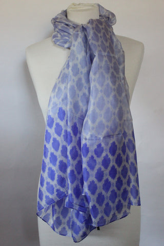 Silk Lavender Seeds Scarf - Shirdak