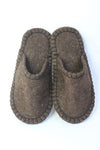 Slippers Brown size 39 - Shirdak