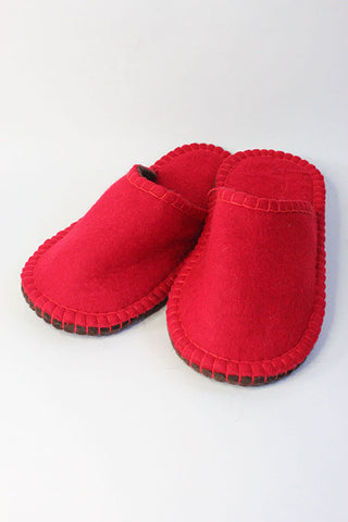 Slippers Red size 36