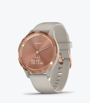 vivomove 3S, S/E EU, Rose Gold, Light Sand, Silicone