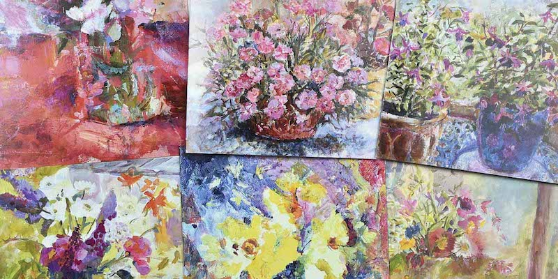Art Cards made from original fine art in the UK and available to buy online at Judi Glover Art