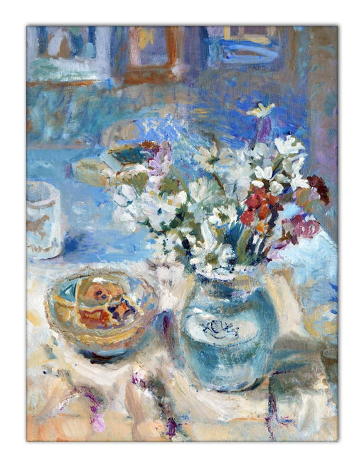 Still life Canvas Print. Still life Canvas Print made from original painting. still life Canvas Print from original art. Available at Judi Glover Art. Original Painting by Judi Glover. Used for Wall Art.