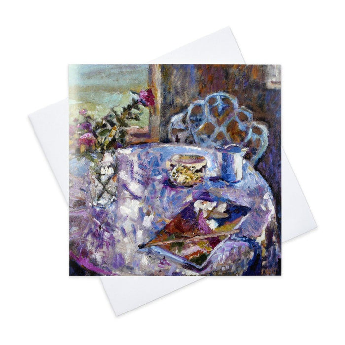 Fine Art Card from a still life painting made from original art in the UK by Judi Glover Art