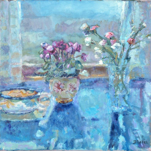 Fine Art Greeting Card from Original Still Life Painting and available to buy online at Judi Glover Art
