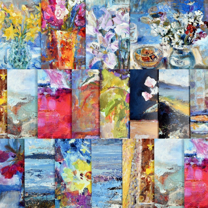 Set of 20 art cards from Judi Glover Art. All set of cards are from original paintings by the Artist Judi Glover