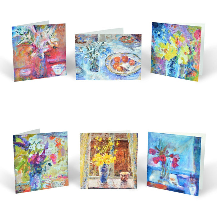 Greeting card set from Judi Glover Art. Art cards from original paintings by Judi Glover Art.