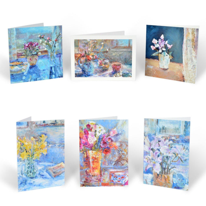 Pack of greeting cards from Judi Glover Art. Art cards from original paintings by Judi Glover Art.
