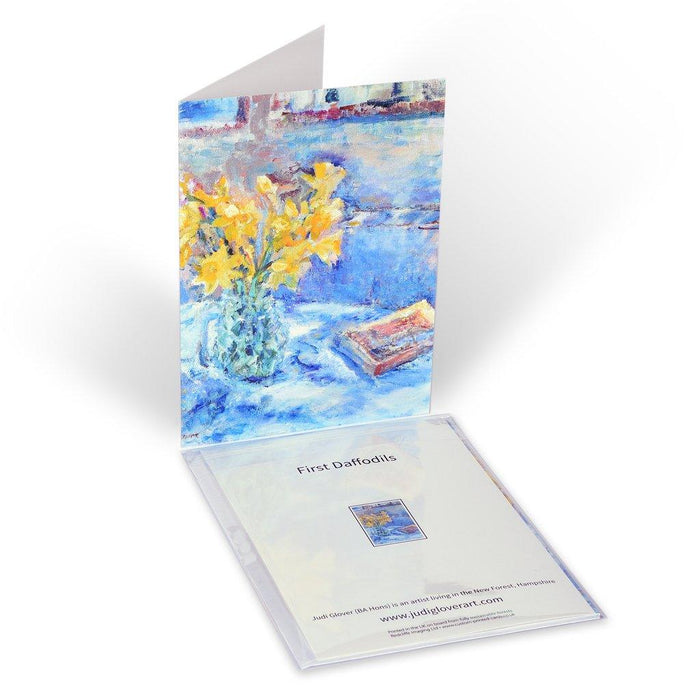 Set of greeting cards from Judi Glover Art. Art cards from original paintings by Judi Glover Art.