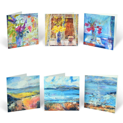 Set of Greeting Cards by Judi Glover Art. Sets of cards from original paintings by Judi Glover.