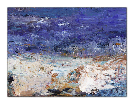 Seascape Canvas Print. Seascape Canvas Print made from original impressionist seascape painting. Canvas Print from original art. Available at Judi Glover Art. Original Painting by Judi Glover. Used for Wall Art.