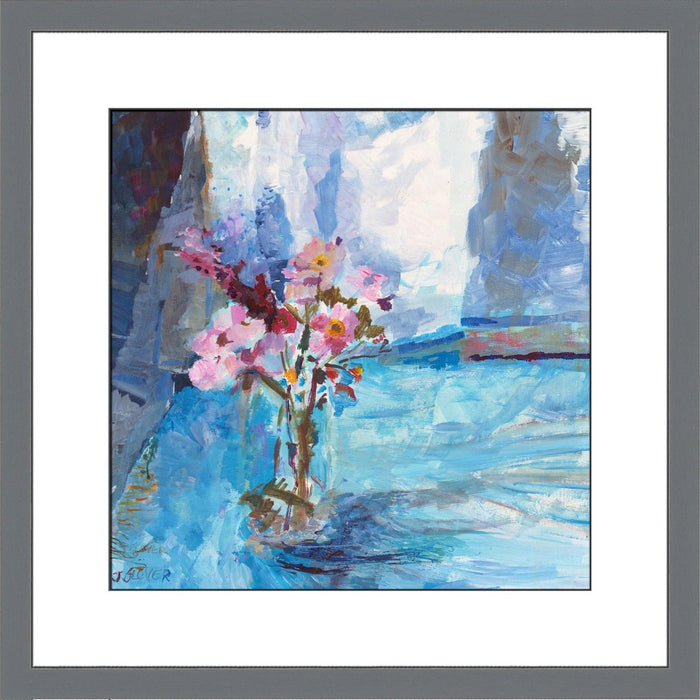 Original painting of Wildflowers available as a floral fine art print. Painting of Wildflowers as a framed floral print from original artwork available at Judi Glover Art and used for Wall Art.