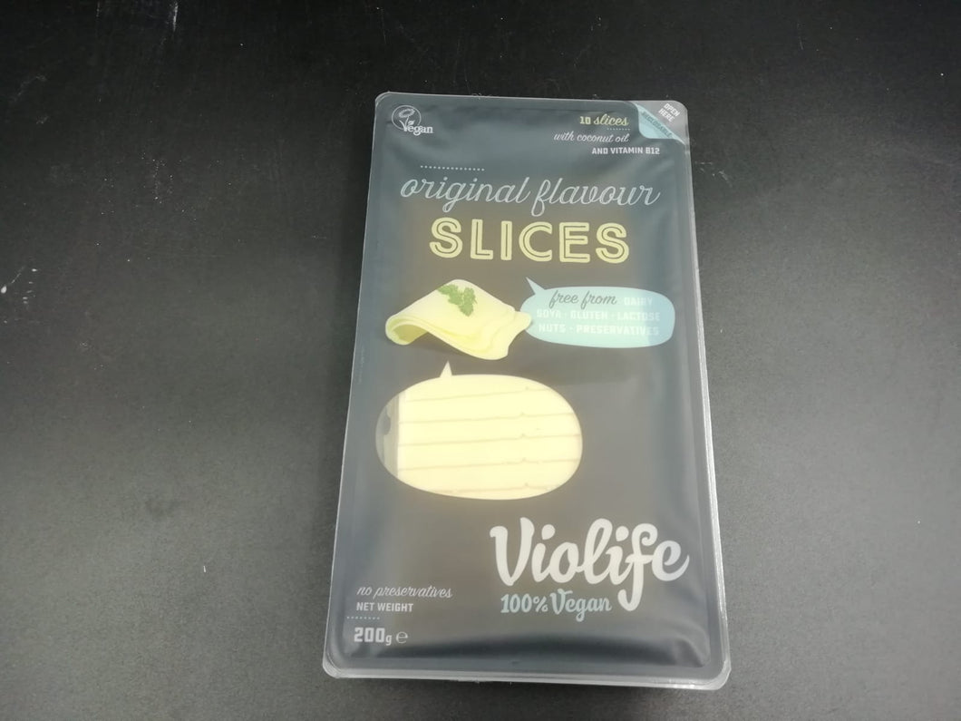 Vegan cheese slices (200gm)