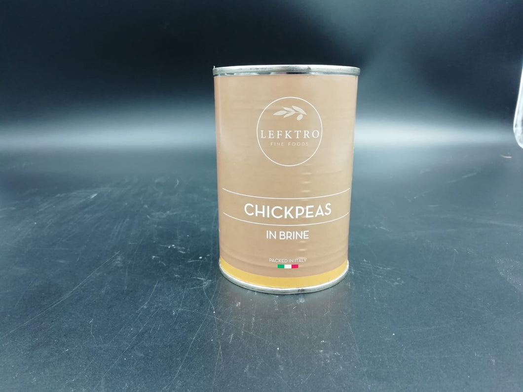 Chickpeas in brine, tinned (400gm)