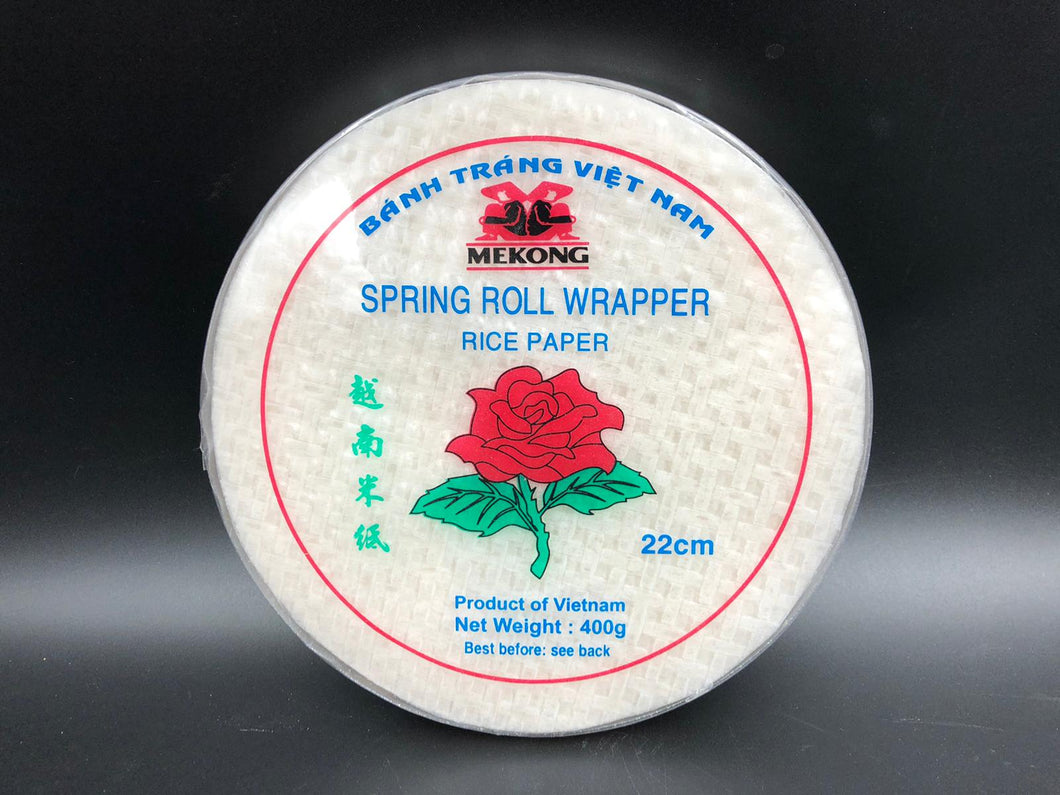 Spring roll wrappers, , rice paper,  extra thin (400gm)