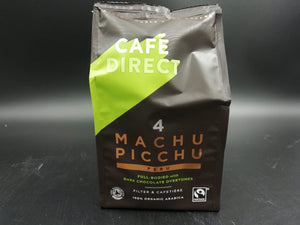 Coffee, ground organic Machu Pichu (227gm)